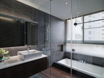 豪华型100平米现代简约风格卫生间图