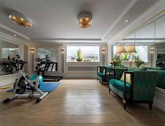 120平米三美式风格健身房装修效果图