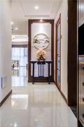20万以上130平米三室两厅中式风格走廊设计图