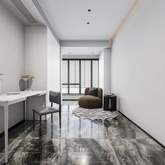 15-20万140平米四室两厅现代简约风格书房欣赏图