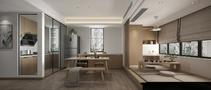 15-20万90平米三室三厅日式风格餐厅设计图