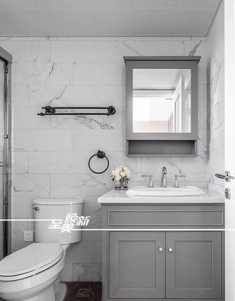 富裕型三室两厅美式风格卫生间图片