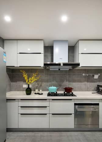 富裕型50平米公寓北欧风格厨房装修案例