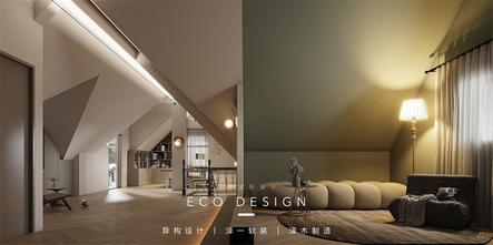 豪华型140平米复式现代简约风格影音室装修效果图