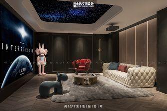 20万以上140平米别墅法式风格影音室图