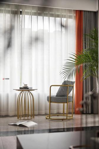 15-20万110平米三室两厅现代简约风格阳台图片