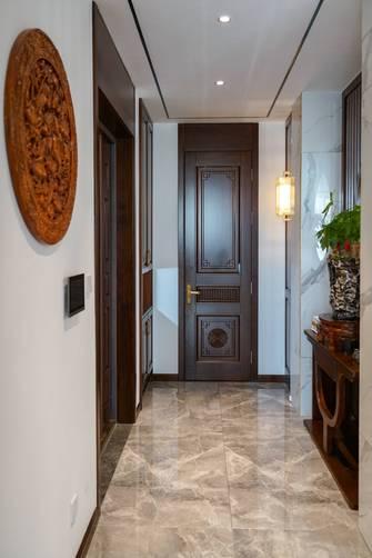 富裕型140平米三室两厅中式风格玄关图片