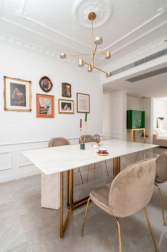 豪华型140平米三室两厅法式风格餐厅装修图片大全