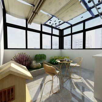130平米三室一厅现代简约风格阳光房图片