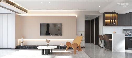 15-20万130平米三现代简约风格客厅装修效果图