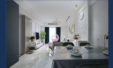 120平米三室一厅轻奢风格客厅欣赏图