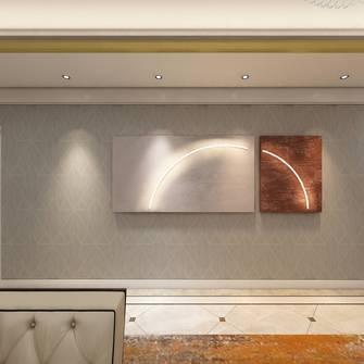 120平米三法式风格客厅效果图