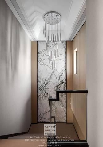140平米复式现代简约风格楼梯间图片大全