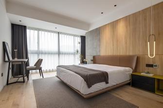 20万以上120平米三室一厅现代简约风格卧室装修案例
