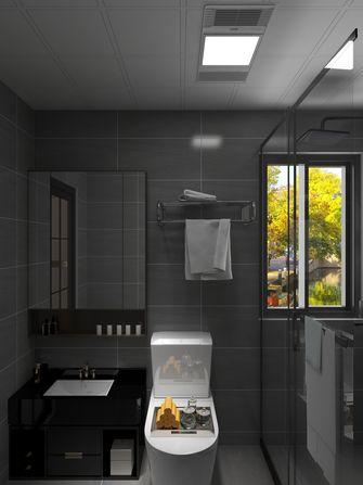 富裕型100平米三室两厅中式风格卫生间图