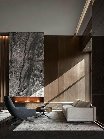 130平米三室三厅现代简约风格客厅设计图