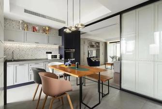 140平米四室一厅混搭风格餐厅装修案例