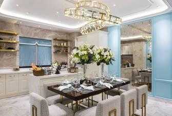 140平米四室两厅地中海风格餐厅装修图片大全