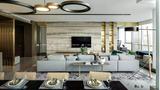 3万以下140平米别墅轻奢风格客厅装修效果图