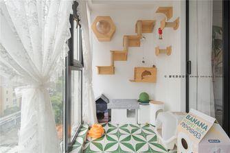 140平米三室两厅法式风格阳台装修图片大全