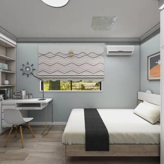 5-10万60平米现代简约风格卧室图片大全