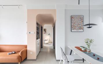 10-15万80平米现代简约风格走廊欣赏图