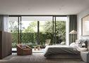 15-20万110平米三室一厅工业风风格卧室装修效果图