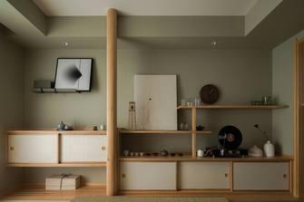 120平米三室三厅日式风格书房装修图片大全