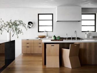 20万以上100平米三室两厅现代简约风格厨房装修图片大全