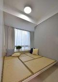 5-10万110平米三室两厅现代简约风格阳光房效果图