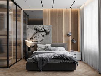富裕型140平米四室三厅轻奢风格卧室图