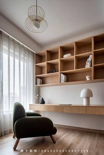 3万以下120平米四室两厅日式风格书房图片大全