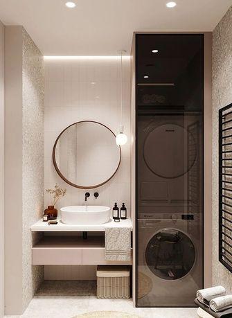 70平米公寓现代简约风格卫生间图片大全