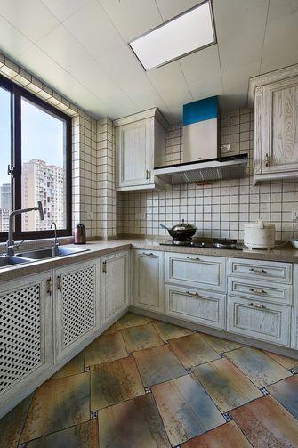 豪华型130平米四美式风格厨房图片大全