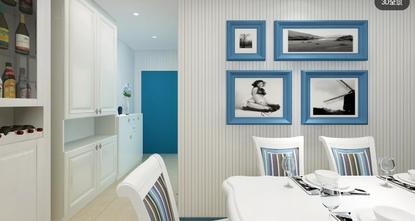 三地中海风格客厅装修效果图