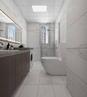 20万以上110平米三现代简约风格卫生间设计图