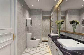 140平米四室一厅轻奢风格卫生间欣赏图