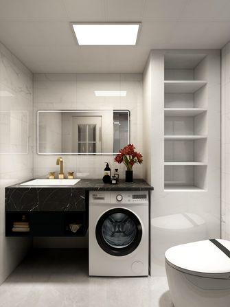 豪华型120平米三室两厅现代简约风格卫生间效果图