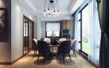 豪华型140平米四室一厅工业风风格餐厅装修效果图