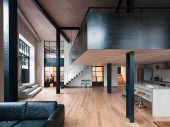 经济型140平米别墅北欧风格客厅装修案例