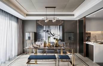 富裕型120平米复式混搭风格餐厅效果图
