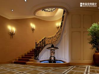 豪华型140平米别墅美式风格楼梯间效果图