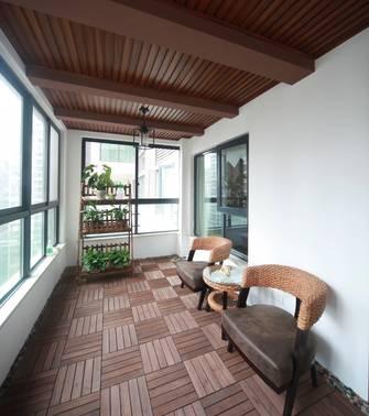 10-15万140平米三美式风格阳台装修图片大全