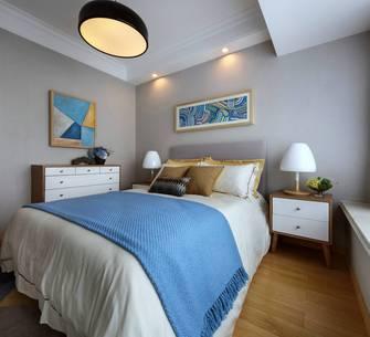 5-10万60平米一室一厅北欧风格卧室图