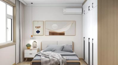 经济型60平米一室两厅日式风格卧室效果图