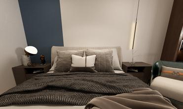 60平米复式工业风风格卧室效果图