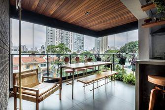 70平米公寓北欧风格餐厅图片