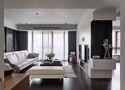 3-5万60平米现代简约风格客厅图