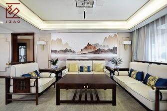 15-20万120平米三室两厅中式风格客厅装修效果图