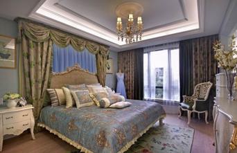 富裕型140平米三室两厅法式风格卧室图